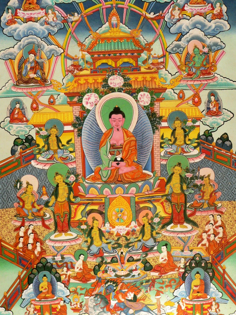 The tibetan buddhist symbols beliefs and practices