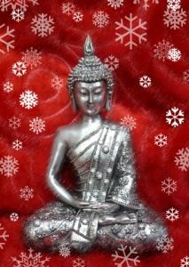 christmas-buddha