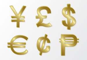 014-golden-currency-symbols-free-vector