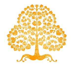 bodhi-tree-on-a-white-background-vector-6118056